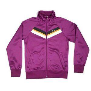 Retro Nike Track Jacket Warm Up Purple